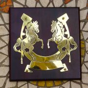 Rearing-Horses- Solid-Brass-Plaque-on-Solid-Oak-Mount-11