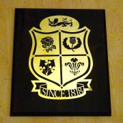 British-Lions-Rugby-Union-Solid-Brass-Plaque-on-Solid-Oak-Mount-2