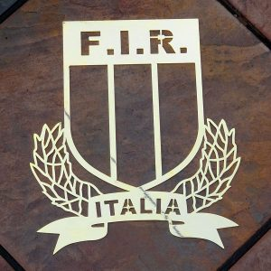 Italy-Rugby-Union-Solid-Brass-Plaque-1