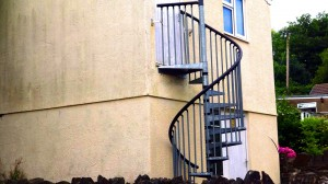 Custom-Fire-Escape-Spiral-Staircase-Pontypridd-South-Wales-Wrought-Iron-1000px